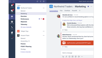 Microsoft teams chatroom