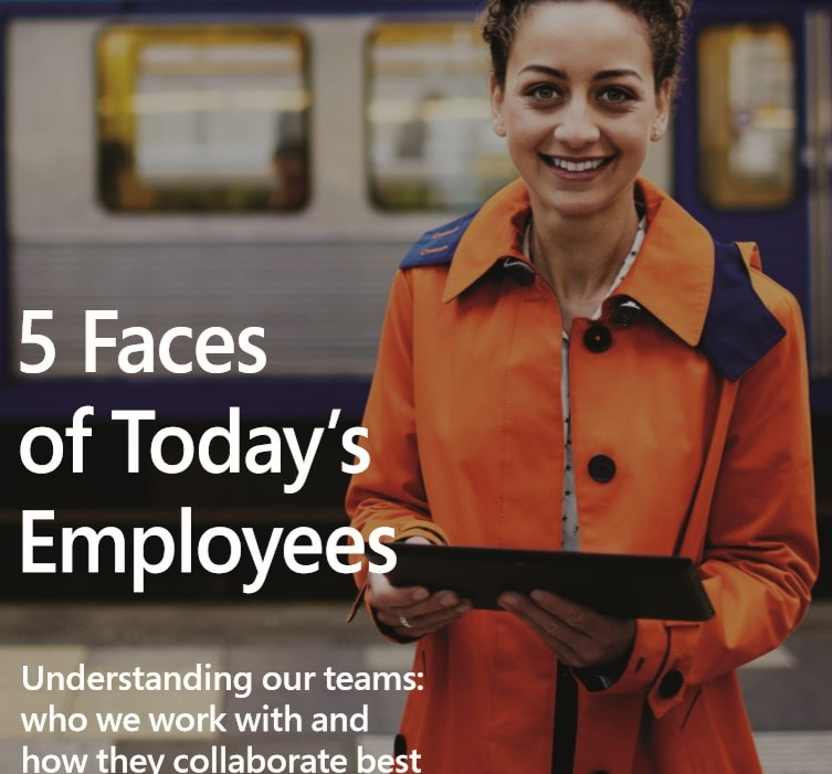 5 Faces of Todays employees